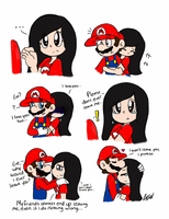 MxE: Don't Leave... by Number1MarioFan247