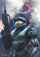 Halo - Master Chief by Logunkov