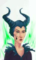 Maleficent by cgartMan5ON