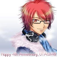 Happy 4th Anniversary, UTA*PRI! by kurohiko