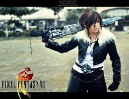 Squall Leonheart by shutter-puppy