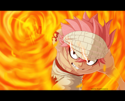 FT 442: Natsu attacking by AlexanJ