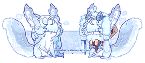 Elnin: Abominable Snowpuff by manaberry