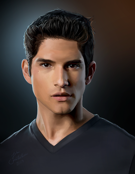 Teen Wolf - Tyler Posey AKA Scott McCall by johnneh-draws