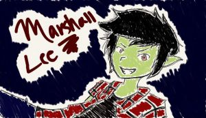 Marshall Lee Sketch by MsGDance