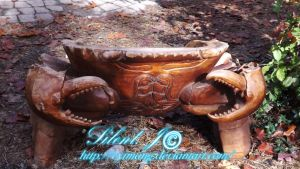 The Wooden Crab of the Fair by cyimang