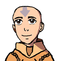 Avatar Aang as a child by Fran48