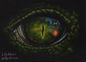 Eye of the Kaiju - 8/11/13 by Girlgoth