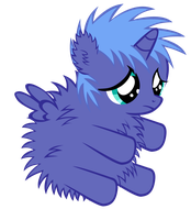 Fluffy Woona by Bronyboy