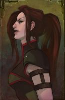 DianaHold Commission: Tanea by UlaFish