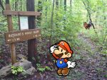 Paper Mario Finds Buzzard's Roost Bluff by GamerStunner27