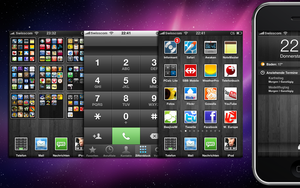 iWood iPhone Theme by Smartphoner