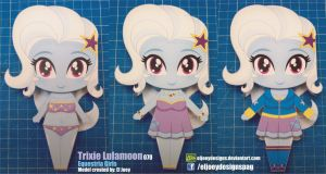 Trixie Lulamoon Completed model by ELJOEYDESIGNS