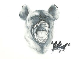Copic Hyena by RuKuS403