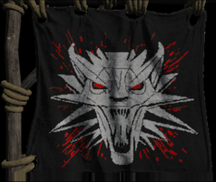 ARK :: My witcher Flag by Elkane
