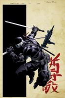 SnakeEyes 2 Cover Variant by spidermanfan2099