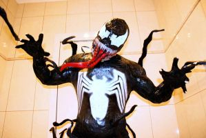 MY NEW COMPLETED ANIMATED SERIES VENOM COSPLAY by symbiote-x