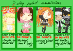 cheap chibi commissions ****OVER***** by butt-sama