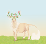 Gwion the Minstrel |Stag| Commoner by SilveringOak