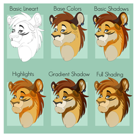KhajiKitsch's Cell Shading Tutorial by TheOutli3R