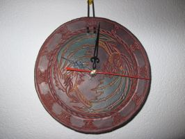 Dragon clock by akinra-workshop