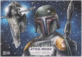 Boba Fett - EMPIRE STRIKES BACK: ILLUSTRATED AP by Erik-Maell