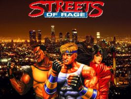 Streets Of Rage In The City by Tiraass