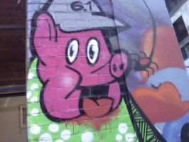 Graffiti Porky Pig by countercharm