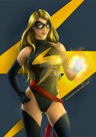 Ms. Marvel by Almayer