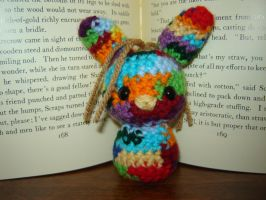 Patchwork Bunny of Oz by Ginger-PolitiCat