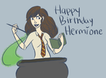 Happy Birthday Hermione by wondernez