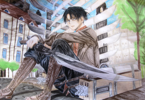 Levi Heichou by AngelicaBq