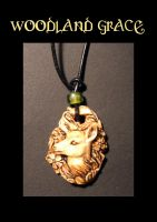 Woodland Grace pendant by Meadowknight