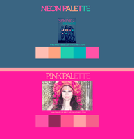 Palettes by CandyBiebs