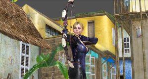 Jill Valentine Bow and Arrow2 by blw7920
