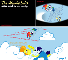The Wonderbolts #3 - 1 by Taharon