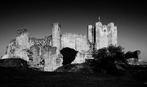 Conisbrough Castle II by RickHaigh