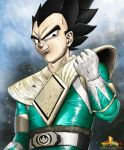 Green Ranger Vegeta by JoelWhite