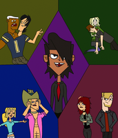 Total Drama Ascension Collage by SoulExecution