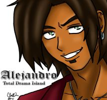 Total Drama Hustlaz: Alejandro by blwhere