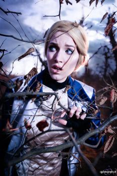 It's coming closer - Fleur cosplay photography by CorneliaGillmann
