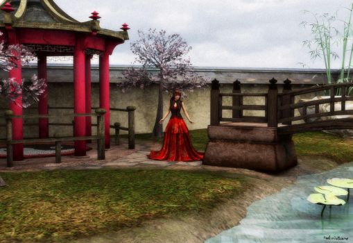 Japanese Garden by NellWilliams