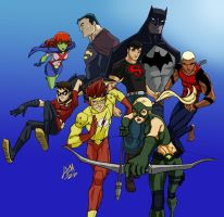 Young Justice by Lemwell