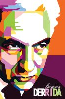 WPAP of Jacques Derrida by duniaonme