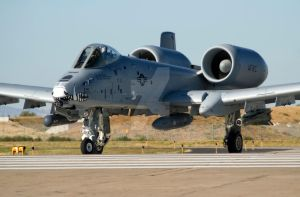A-10 Warthog Full Screen by jdmimages