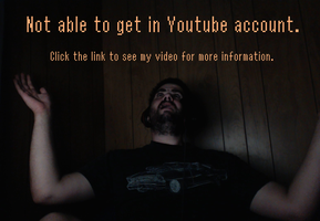 Not able to get in Youtube account by x-Darkie-x