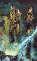 ghostbusters by natira