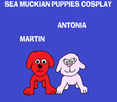 Martin and Antonia, the Puppies by MikeEddyAdmirer89
