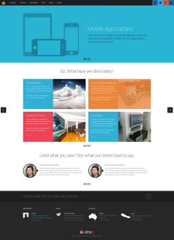 Responsive Web Design from Nepal by View9