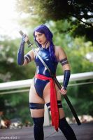 X-Men Psylocke ~ Sleek Assassin by etaru